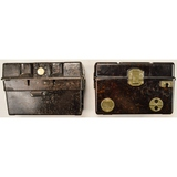 Lot of 2 Foreign Military Field Telephones