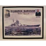Bismarck Survivor Autographed Picture