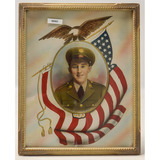 WWII US Army Framed Picture