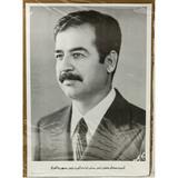 Desert Storm Saddam Hussein Poster