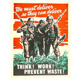 WWII War Poster
