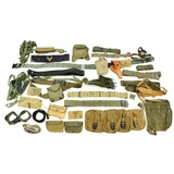 Lot of US Belts & Utility Bags