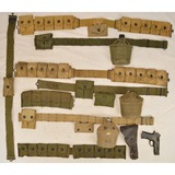 Lot of US Military Ammo Belts