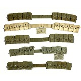 Lot of WWII US Ammo Belts