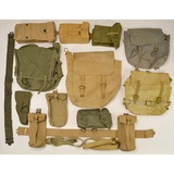 British Military Field Gear Lot