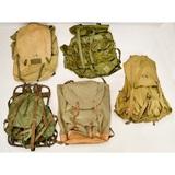 Lot of Military Backpacks