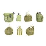 Lot of 7 US Canteens