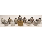 Lot of 12 US WWII Canteens