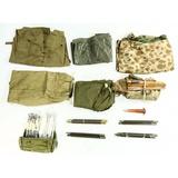 US Military Shelter Halves & Poncho Lot