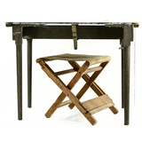 US Field Desk and Stool