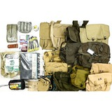 Crate of Military and Camping Items