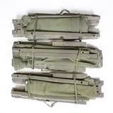 3 US Army 1952 Korean War Folding Canvas Cots