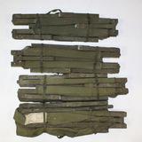4 US Army 1952 Korean War Folding Canvas Cots