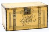 Tin Litho Glycerol Shoe Dressing Display Box