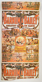 Vintage Barnum & Bailey Circus Poster Wallpaper