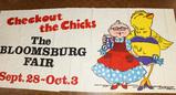 30 Sheet Horizontal Poster Bloomsburg Fair