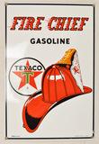Texaco Fire Chief Gasoline Sign
