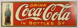 Contemporary Coca-Cola Metal Sign