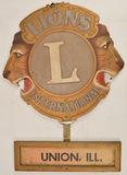 Lions International Plaque Union IL
