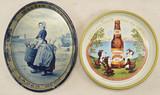 Vintage Beer Trays Brewery Signs
