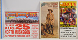 Lot of 15 Vintage Circus Posters