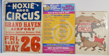 Lot of 18 Vintage Circus Posters