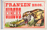 Lot of 10 Vintage Circus Posters