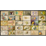 Lot of 30 Easter Postcards