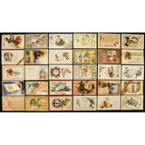Lot of 30 New Years Postcards