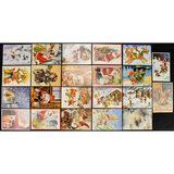 Lot of 30 Christmas Postcards