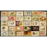 Lot of 30 Birthday Card Postcards