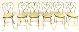 6 Soda Fountain/Ice Cream Parlor Chairs