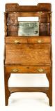 Antique Quarter Sawn Oak Writing Desk