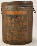 Vintage Merchant Coffee Co Coffee Can