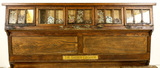 General Store Sherer Seed Cabinet Glass Front
