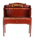 John Lewis Childs Seed Co. Display Stand