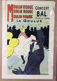Moulin Rouge Lithograph