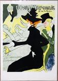 Divan Japonais Lithograph Poster