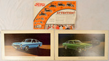 Lot of Vintage Car Posters