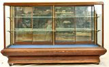 Country Store Counter Show Display Case