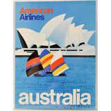 American Airlines Australia Poster