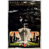 Queen Elizabeth, B-17 Fact Sheet, F-16B Posters 3