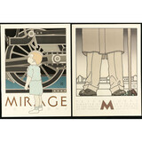 Lot of 2 David Lance Goines Posters Lorre Mirage
