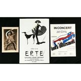 Lot of 3 Posters Erte Joe Magarac Inti-Illimani