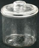 Glass Cigar Display Jar