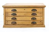 Wooden 4-Drawer Cabinet