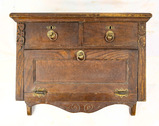 Vintage Wooden Wall Cabinet