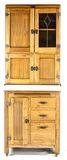 Vintage Hoosier 2 Part Cabinet