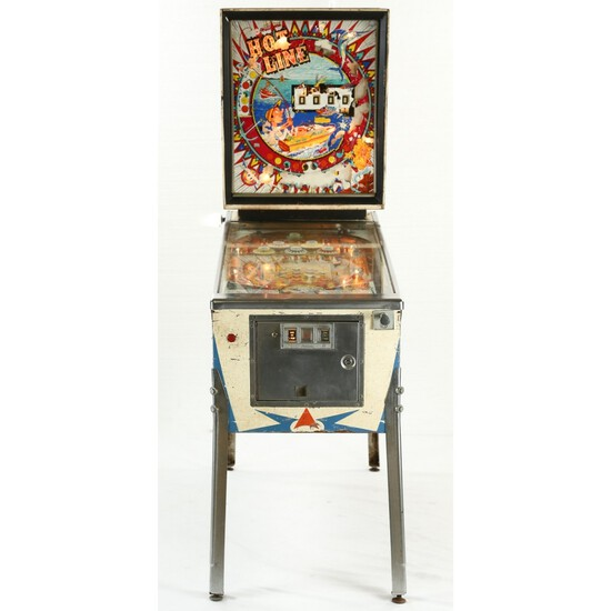 Williams HOT LINE Pinball Machine