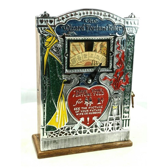 The Wizard Fortune Teller 1 Cent Machine